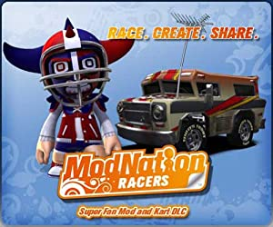 Buy Amazon.com: ModNation Racers - Super Fan Mod and Kart [Online Game