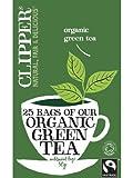 Clipper Organic Green Tea 25 Bag Herbal Tea Well Being
