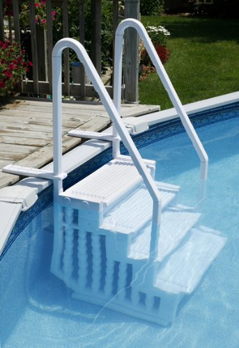 Blue Wave Easy Pool Step from Splash Net Express