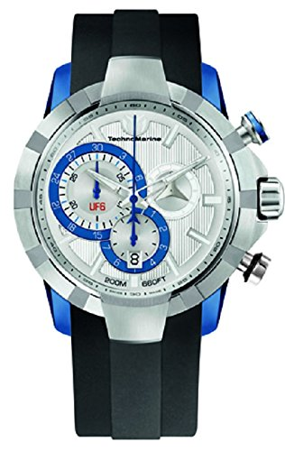 technomarine-mens-quartz-watch-with-silver-dial-chronograph-display-and-black-silicone-strap-614002