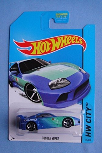 2014 Hot Wheels Hw City 22/250 - Toyota Supra