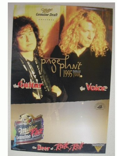 3 Jimmy Page Robert Plant Poster Led Zeppelin