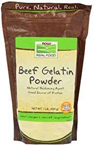 NOW Foods Beef Gelatin Powder -- 1 lb