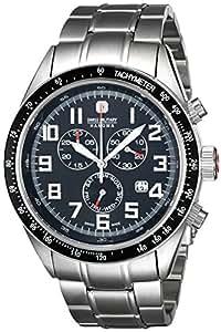 Swiss Military Hanowa Herren-Armbanduhr XL Analog Quarz Edelstahl beschichtet 06-5197.04.007