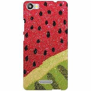 Micromax Canvas 5 E481 Back Cover - Silicon watermelon Designer Cases