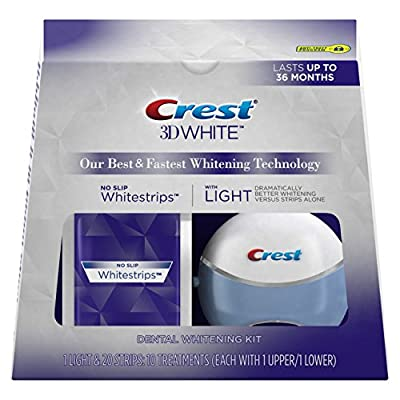 Cheapest Crest 3D White Whitestrips with Light, 10 ct. by Procter Gamble - Haba Hub - Free Shipping Available
