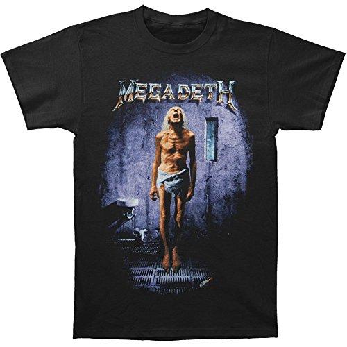 Michaner Walosde Megadeth Men's Countdown Album T-shirt Black XX-Large