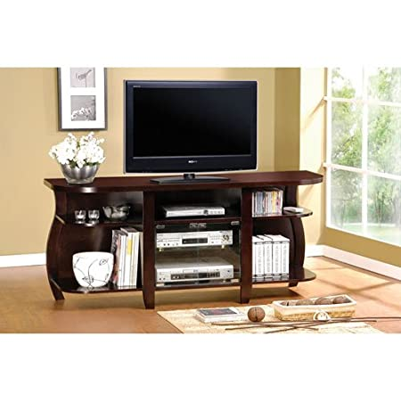 Coaster Home Furnishings 700659 Casual TV Console, Cappuccino
