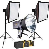 Impact Two Monolight Kit with Bag (120VAC)