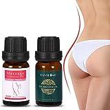 20ml Hip Lift Buttock Massage Essential Oil + 20ml Nourishment Enhancement Ass Lifting Up Essence Oil