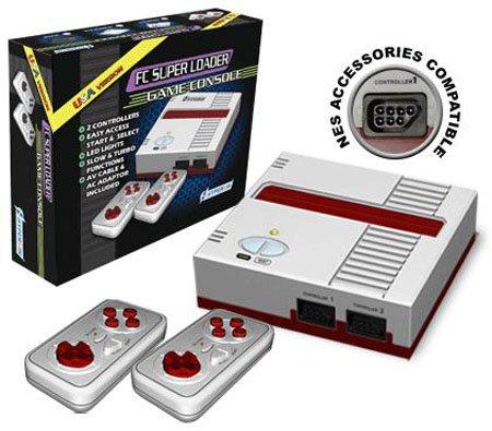 Fc Super Loader Console For Nes Games Black front-679383