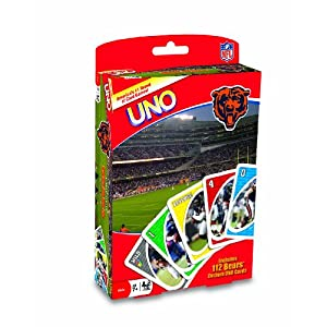 Uno card game: Chicago Bears edition!