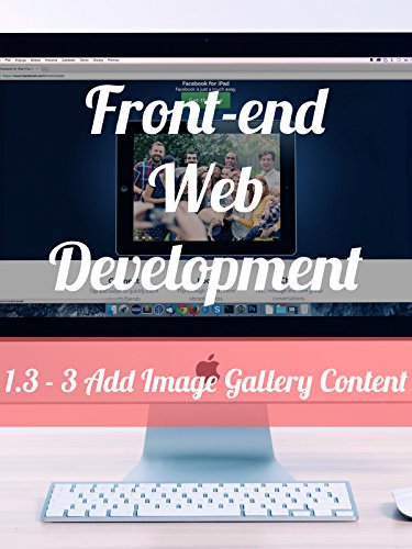 1.3 - 3. Add Image Gallery Content