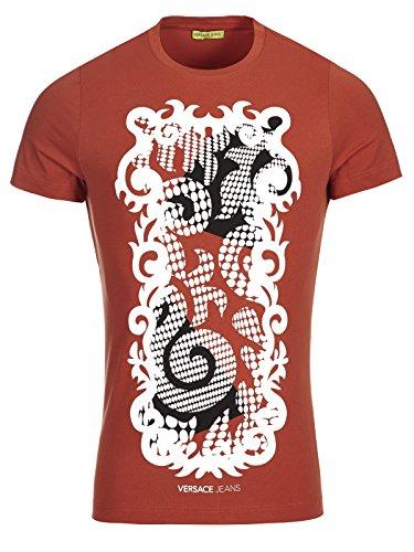 Versace Jeans Couture T-Shirt (M-03-Ts-34993) - 44(DE) / 44(IT) / 44(EU) - rostbraun
