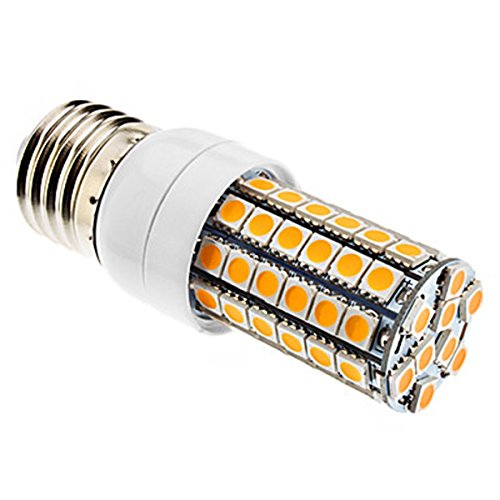 Generic E27 6W 69X5050Smd 500-600Lm 3000-3500K Warm White Light Led Corn Bulb (220-240V)