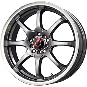 Drag DR 55 Gunmetal Wheel with Machined Lip Finish (17×7″/4x100mm)