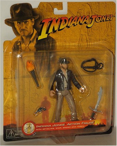 Picture of Disney Indiana Jones Action Figure - Walt Disney Theme Park Exclusive (B000UGLAGC) (Disney Action Figures)