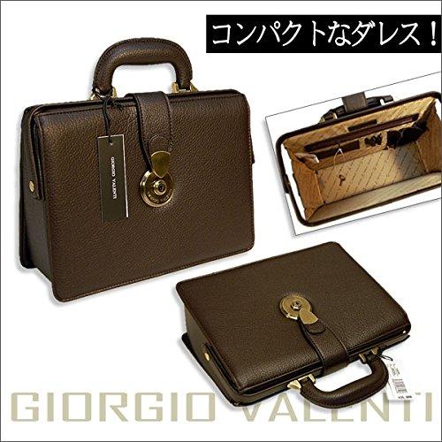 GIORGIO VALENTI 上品なダレスバッグ B5サイズも楽々収納 ドクターバッグ ブラック