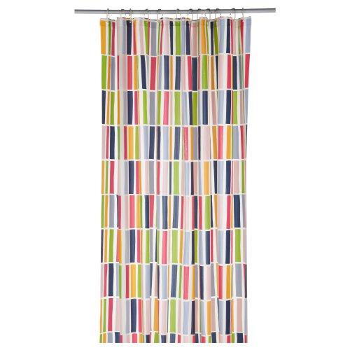 IKEA NIDELVA 70225162 シャワーカーテン