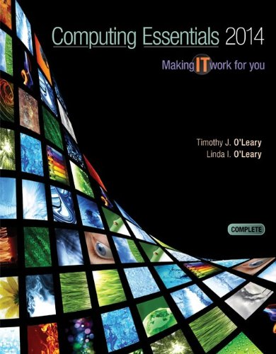 Computing Essentials 2014 Complete Edition with Connect Access Card