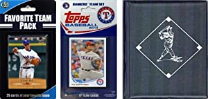 MLB Texas Rangers Licensed 2013 Topps Team Set with Favorite Player Trading Cards and... by C&I Collectables