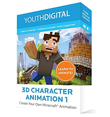 Youth Digital 3D Character Animation 1 1
