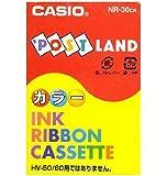 CASIO カシオ ポストランド インクリボン NR-30CR