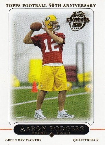 2005 Topps # 431 Aaron Rodgers RC - Green Bay Packers (RC - Rookie Card) (Football Card) Super Bowl MVP