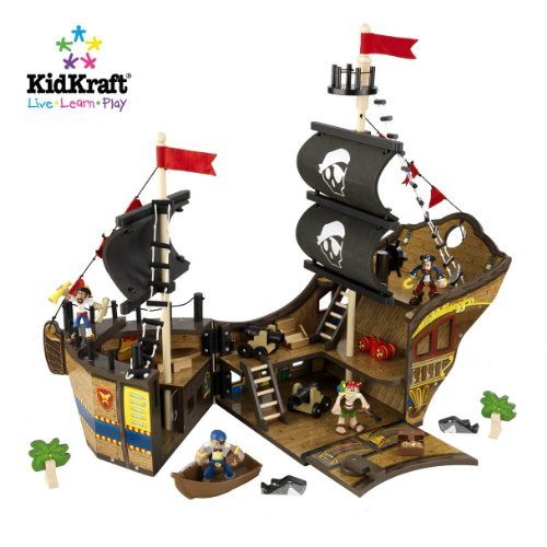 KidKraft Fun Explorers Pirate Ship Play Set