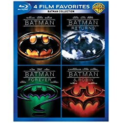 4 Film Favorites: Batman [Blu-ray]