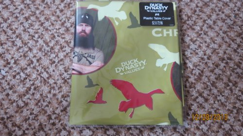 Duck Dynasty Plastic Table Cloth Cover