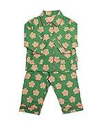 Toby Tiger Pijama Pjtgrflow (Verde)
