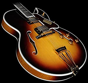 Gibson Custom Shop HSBYFVSGH1 Hollow Body Electric Guitar, Vintage Sunburst discuss buy baptism info other related detail