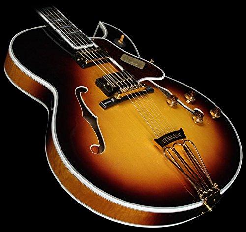 Gibson Custom Shop Hsbyfvsgh1 Hollow-Body Electric Guitar, Vintage Sunburst