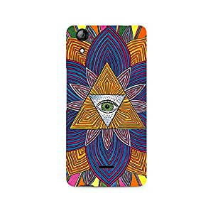 Ebby The Eye Premium Printed Case For Micromax Canvas Selfie 2 Q340
