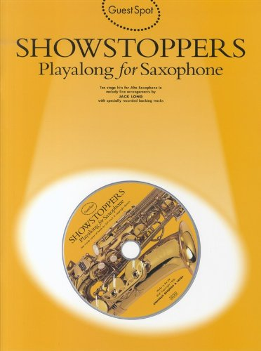Guest Spot: Showstoppers Playalong for Saxophone