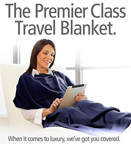 51c6IaOcFsL Travelrest 4 in1 Premier Class Travel Blanket with Pocket   Cover Shoulders   Soft and Luxurious (#1 BEST SELLER)   GREAT HOLIDAY GIFT!