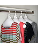 Inflatable Travel & Laundry Hangers Drip Dry Clothes 4-Hangers - Household Essentials #04500-2