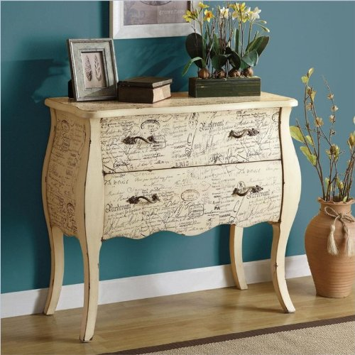 Coaster Home Furnishings Traditional Accent Cabinet, White front-87351