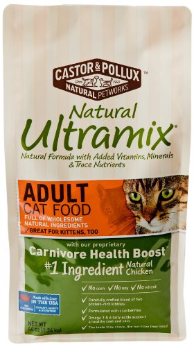 Detail image Ultramix Adult Dry Cat Food, 44 Ounce