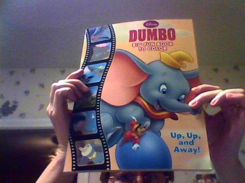 Dumbo Big Fun Book to Color ~ Li'l Sweet Elephant (2011) - 1