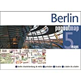 Berlin PopOut Map: pop-up city street map of Berlin city centre - folded pocket size travel map with transit map included (Popout Maps)