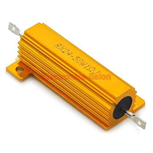 electronics-salon-2pcs-1-ohm-50w-wirewound-aluminum-housed-resistor