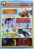 Pack Infantil 1: Colegas En El Bosque, Lluvia De Albondigas, Locos Por El Surf, Monster House [DVD]