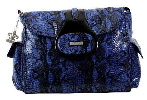 kalencom-elite-wickeltasche-schlangenoptik-python-blau