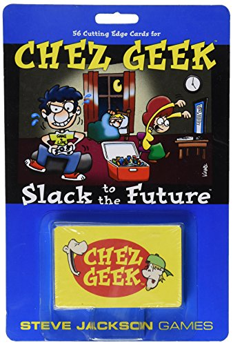 Chez Geek Slack to The Future Card Game