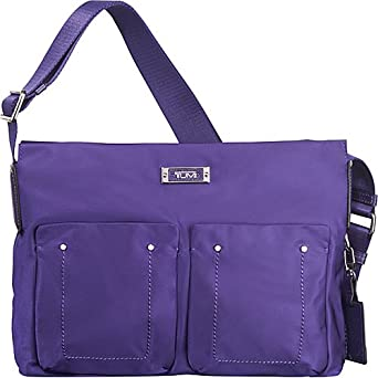 Tumi 墨尔本旅行斜挎包Voyageur Melbourne Top Zip Crossbody Bag 紫$151.75