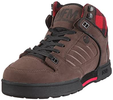 dvs shoes militia boot trainers mens brown braun chocolate