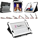 Touchfire Ultra-Protective Case, 3-D Keyboard, Sound Booster & Magnetic Mount for iPad 2, 3, 4 - Black