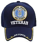 U.S. Military Cap Hat Vietnam Veteran ARMY MARINE NAVY AIR FORCE (#1 Veteran AIR FORCE)